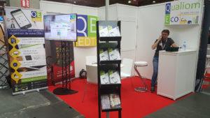 Qualiom Eco présente EDT au Salon des Professionnels de l'Amiante